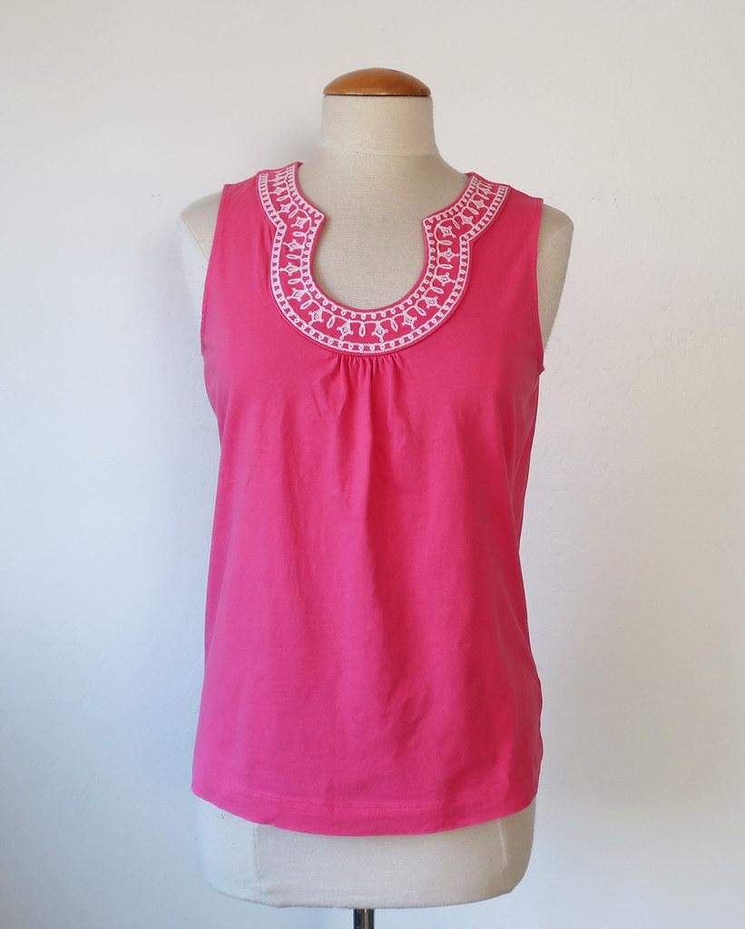 Pink knit top original