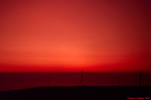 Pacific Afterglow