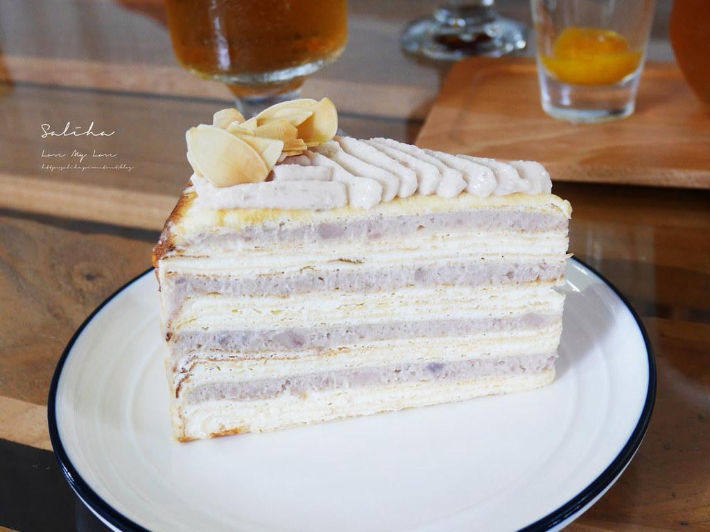 台北好吃千層蛋糕甜點下午茶推薦生活在他方夜貓店芋頭控蛋糕