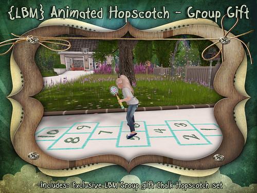 {LBM} Animated Hopscotch GG Ad
