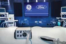 Ford Motors produced a ventilator,
