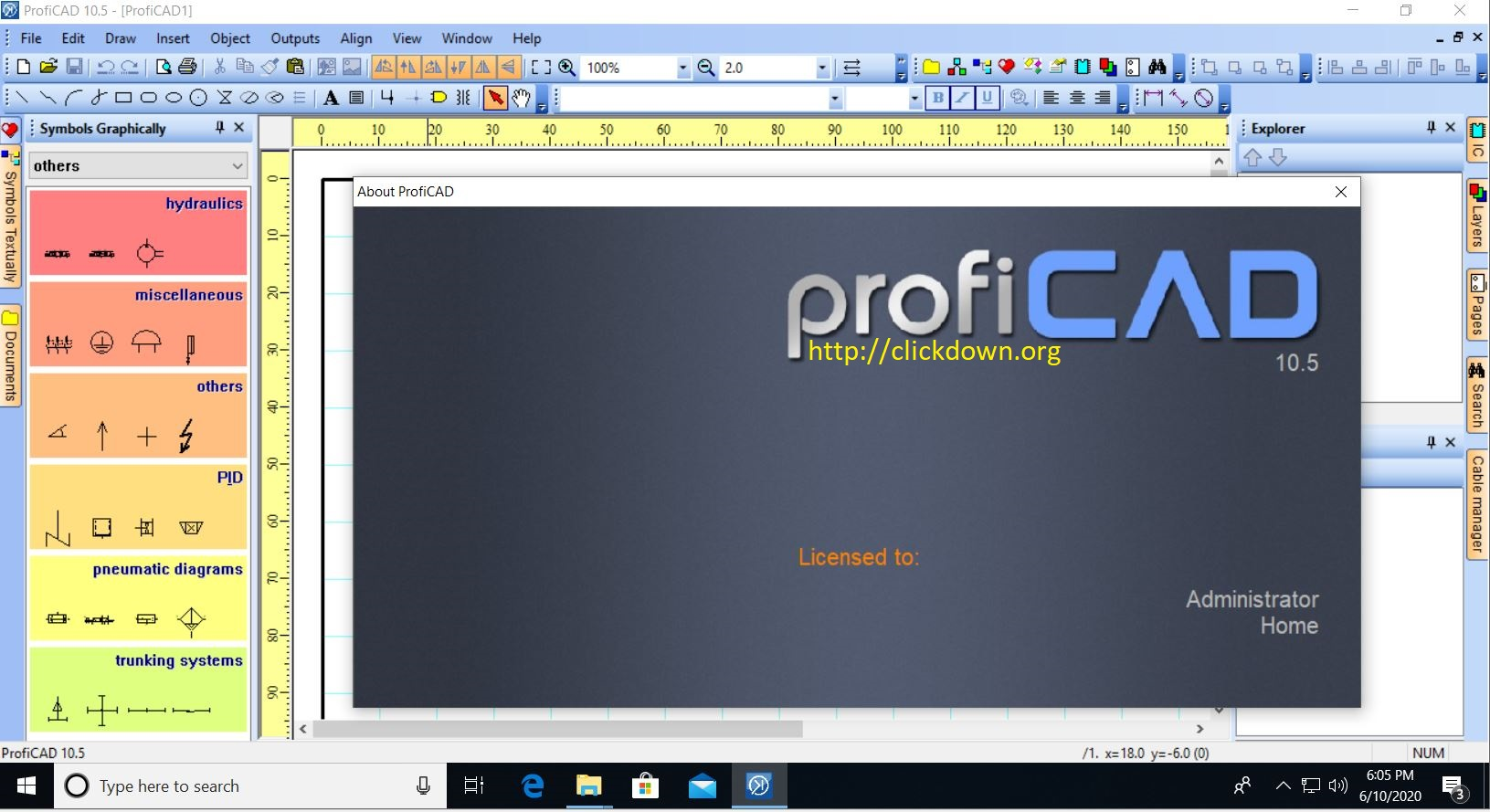 Working with ProfiCAD 10.5.0 full license