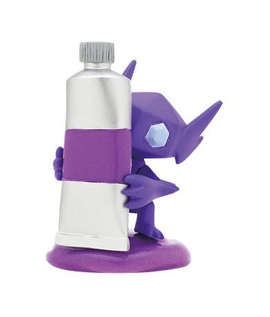 奇譚俱樂部《精靈寶可夢》「調色板顏色收集系列~紫色~」轉蛋(ポケットモンスター パレットカラーコレクション Purple)全五種