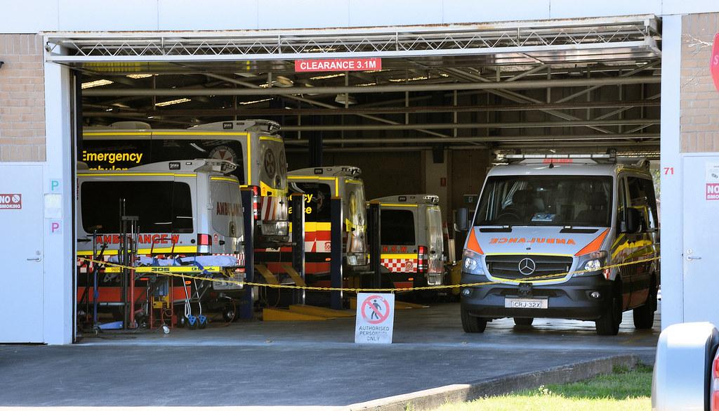Ambulance Workshop Facility, Carramar, Sydney, NSW.
