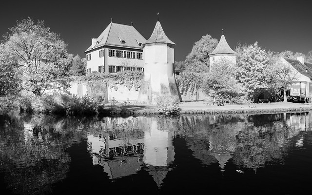 Blutenburg Castle (Adventures in Infrared)