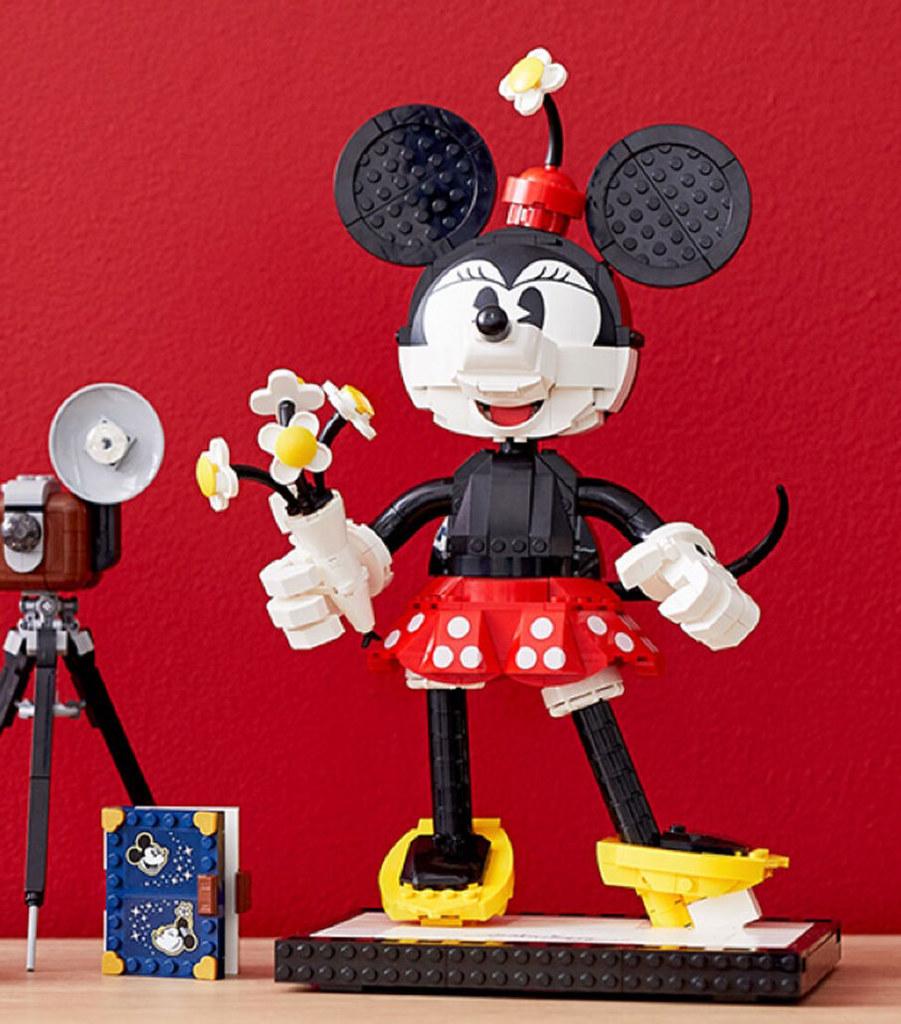 份量與細緻度兼具,新感覺的拼搭模型登場~ LEGO 43179 Disney Characters【米奇&米妮】Mickey & Minnie Mouse 曝光!