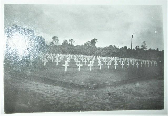 Australian War Cemetery at Torokina, Bougainville, New Guinea - WW2
