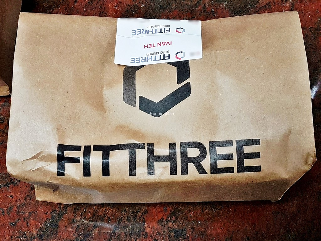 FitThree Package Delivered