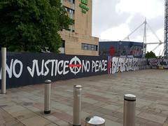 No Justice No Peace, Cardiff