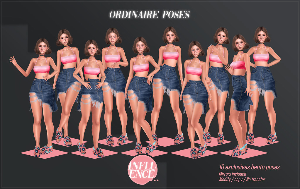 Ordinaire poses