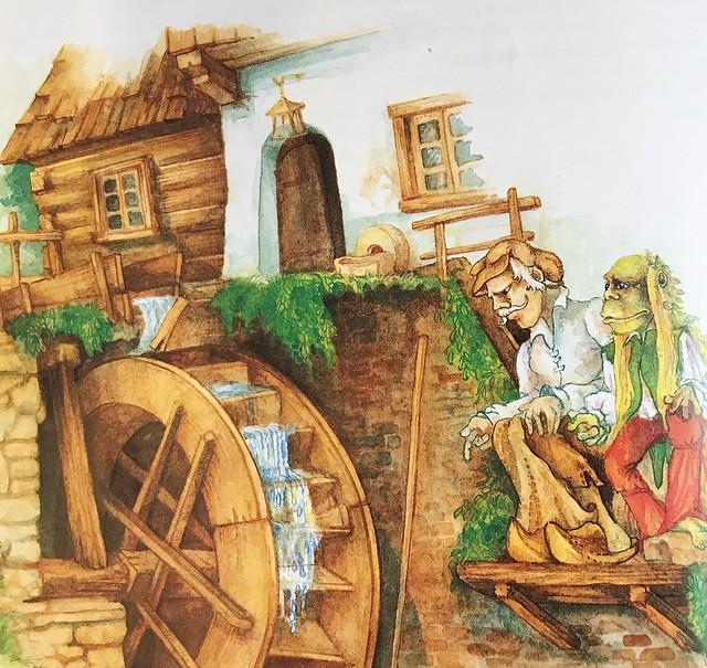 Emil Saloun / Nöck, Der Wassermann / Illustration 1