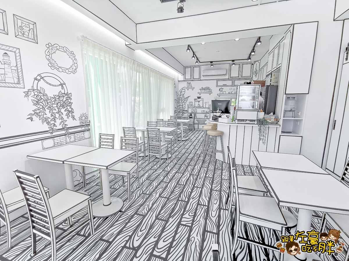 HO Caffee 2D Cafe(2D咖啡)禾旅宿Ho Hostel-墾丁夢幻島 度假別墅-19