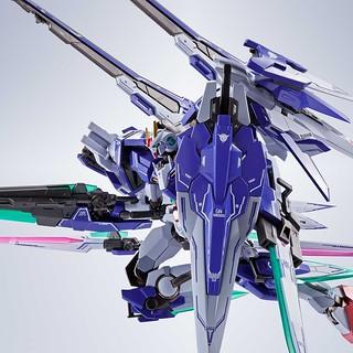 一包再現 6 種型態!METAL ROBOT魂《機動戰士鋼彈00V》00斬擊強化模組+七劍+GN劍Ⅱ光炮型(ダブルオーザンライザーセブンソード+GNソードⅡブラスターセット)