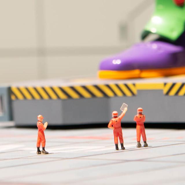 第三新東京市、初號機格納庫發射場、美少女戰士街景微縮登場~世界最大迷你模型主題樂園「SMALL WORLDS TOKYO」小小開幕!