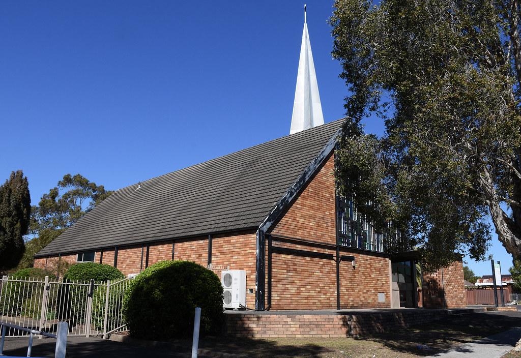 St Barnabas Anglican Church, Fairfield, Sydney, NSW.