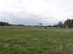 Helikoptern landar, Åkersberga