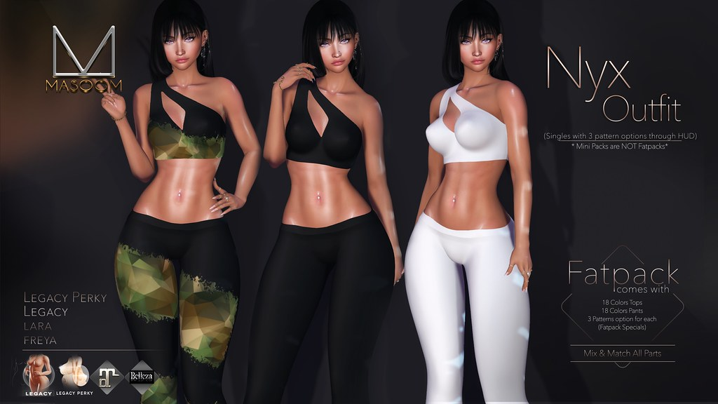 [[ Masoom ]] Nyx Outfit @ Equal10