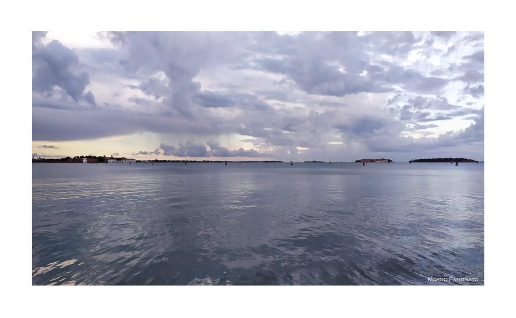 Venezia, temporale in laguna