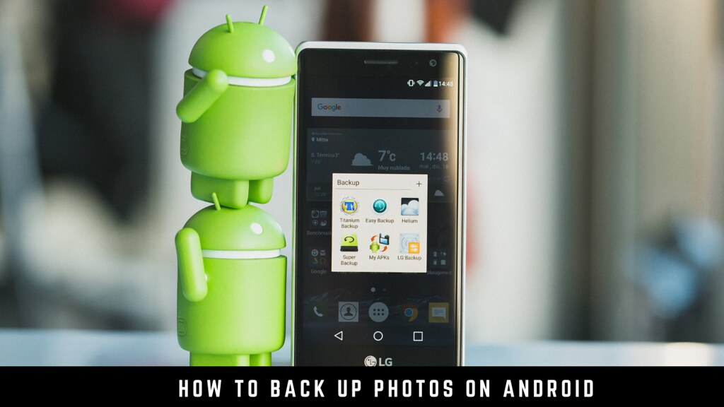 How to back up photos on Android
