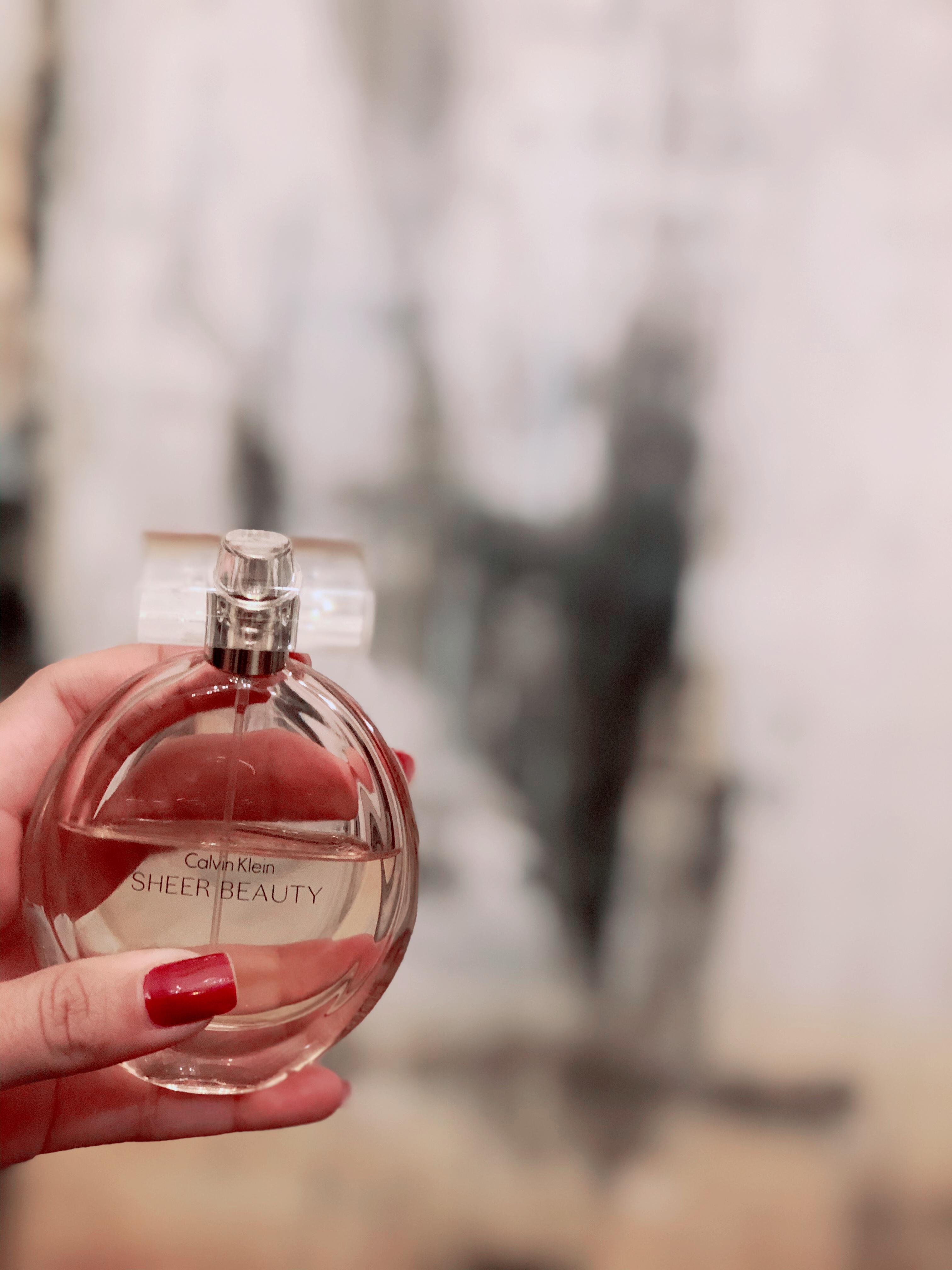 Resenha Perfume Feminino Calvin Klein Sheer Beauty 1