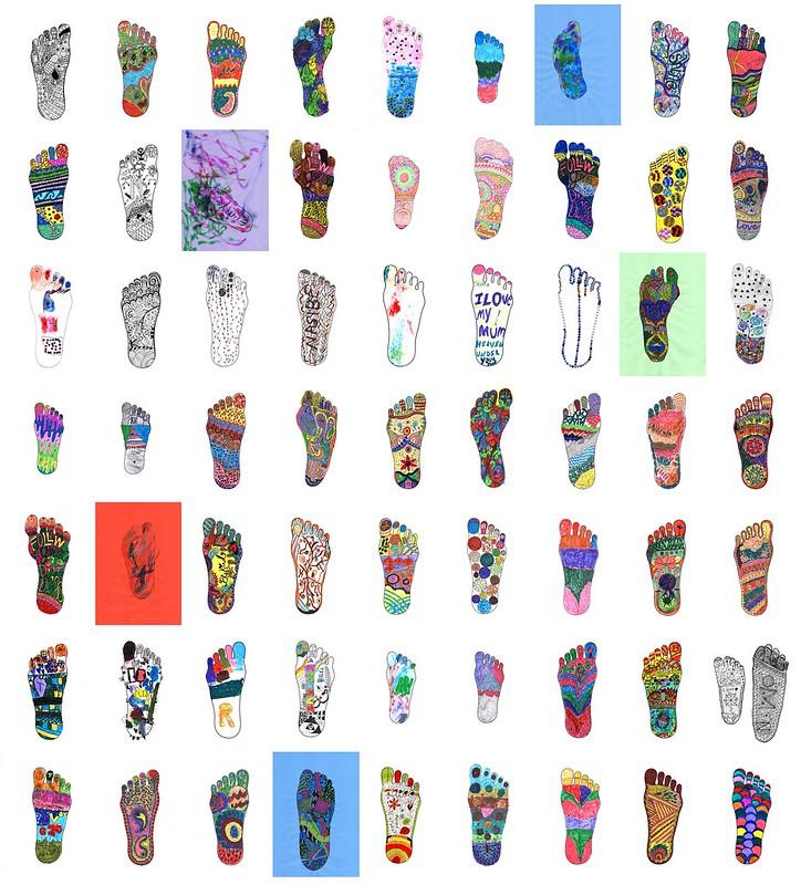 Flourish Foot Quilt