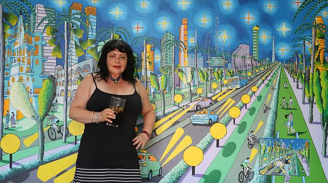 anat angel ענת אנגל אספנית יוצרת חובבת אמנות ישראלית עכשווית מודרנית ציור ישראלי עכשווי מודרני ציוריים ישראליים עכשוויים מודרניים רפי פרץ צייר אמן raphael perez