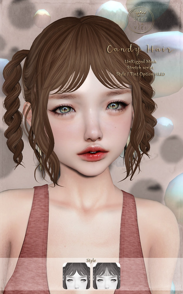 ::C'est la vie !:: Candy Hair for Fifty Linden Fridays