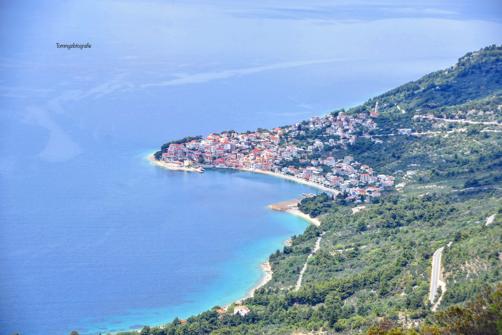 View to the village i live, Igrane, Dalmaija,Croatia