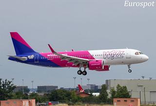 F-WWIN Airbus A320 Neo Wizz Air