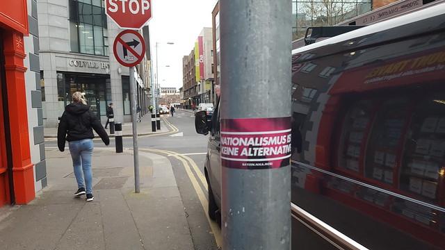 NIKA sticker, Store Street, Dublin