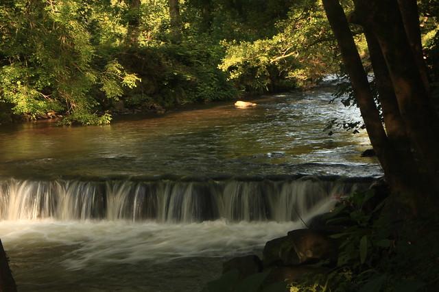 Afon Llwyd Cascade