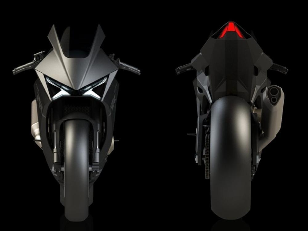 HONDA CBR 750 RR Future Render