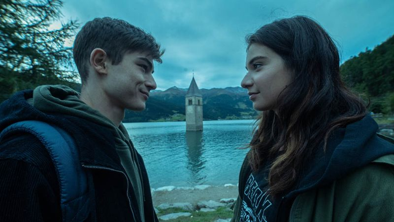 Mauro y Daria Raina en Curon