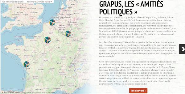 Grapus Storymap