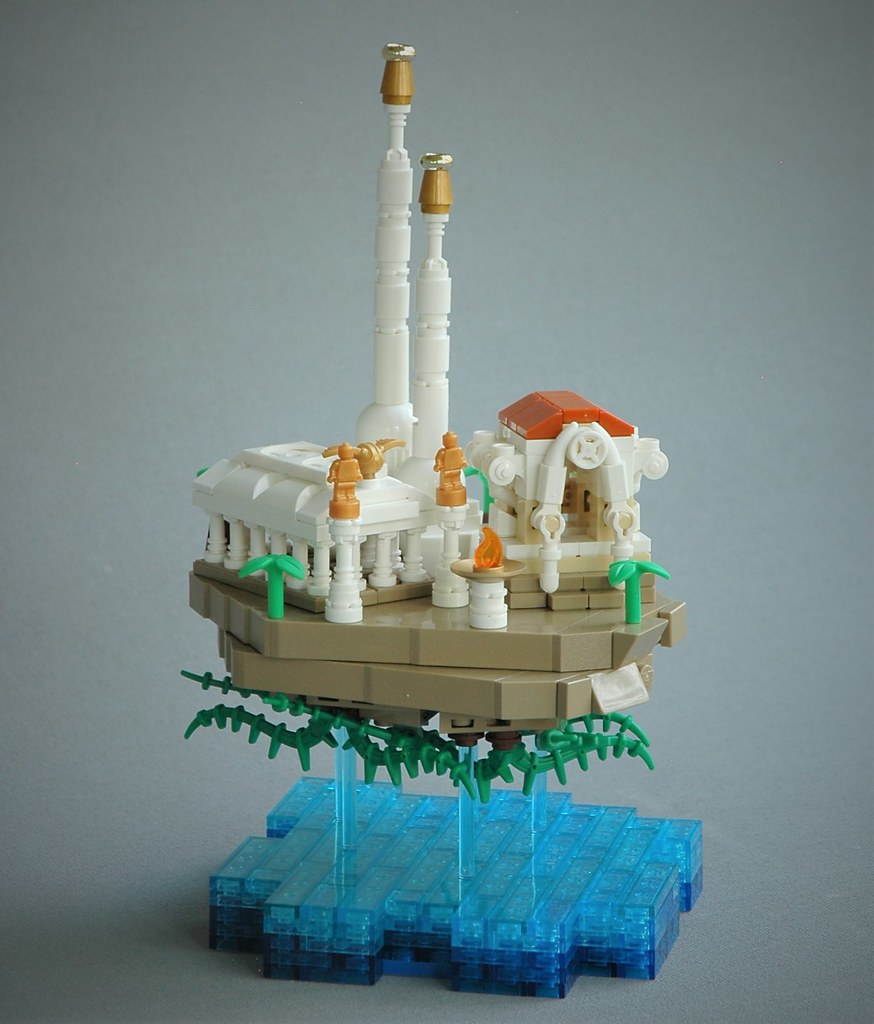 Floating temple of Ya'Hum