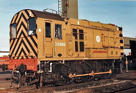 D3489 at felixstowe