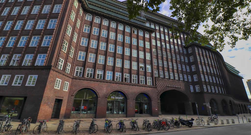Bezienswaardigheden Hamburg: Chilehaus | Mooistestedentrips.nl