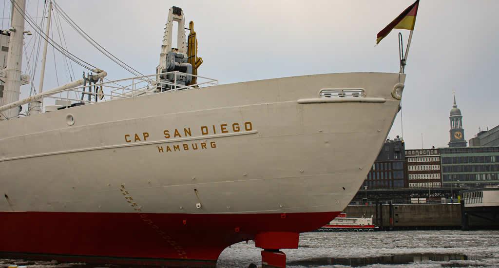 Bezienswaardigheden Hamburg: Cap San Diego | Mooistestedentrips.nl