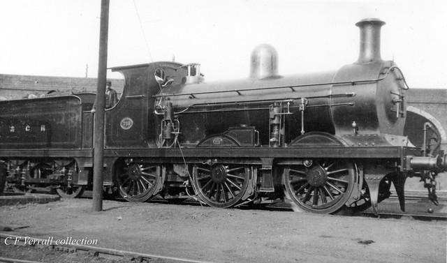 SECR C class 718 at Battersea