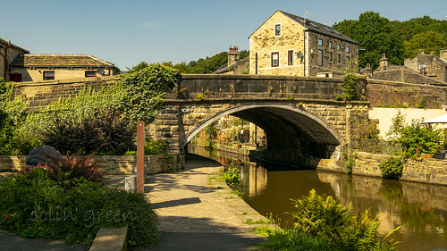 Station Road Bridge, Luddenden Foot over the Rochdale Canal