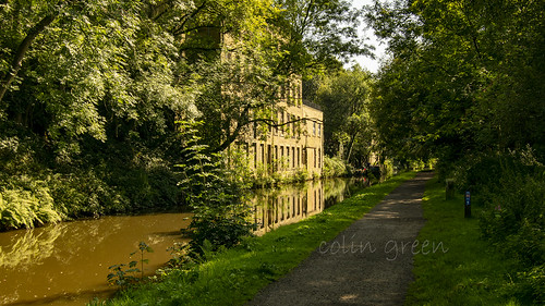 Rochdale Canal at Luddenden Foot