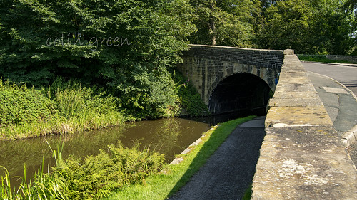 Longbottom Bridge over the Rochdale Canal