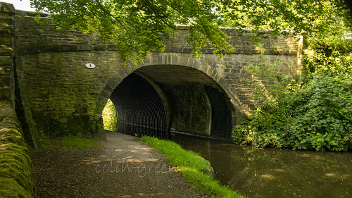 Longbottom Bridge and the Rochdale Canal