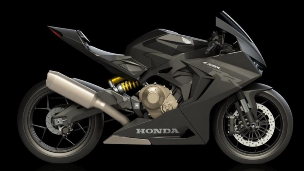 HONDA CBR 750 RR Render RV