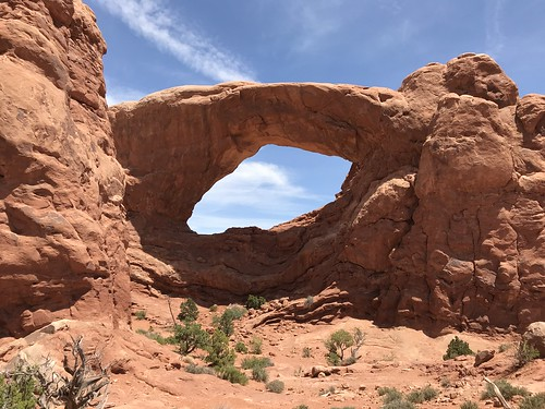 Windows Arch. From History Comes Alive on Moab's Hiking Trails
