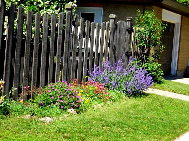 Fence and flowers! - HFF Menominee Michigan