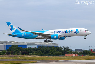 F-WZFK Airbus A350 French Bee