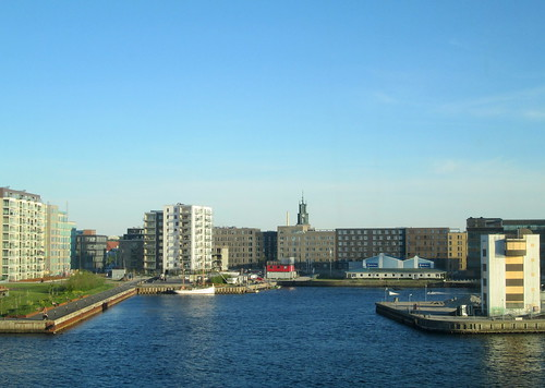 Modern Buildings and Tower, Aalborg