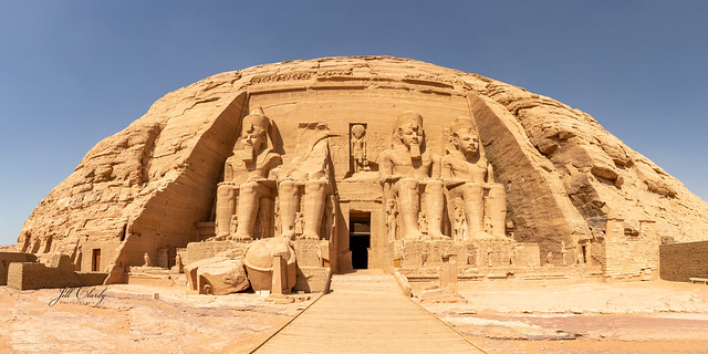 Armchair Traveling - Abu Simbel Temple, Egypt