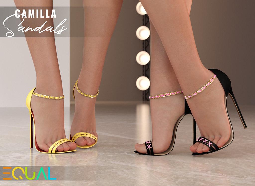 EQUAL – Camilla Sandals